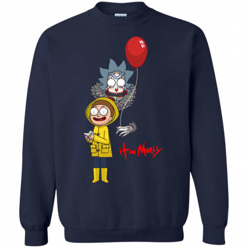 Halloween: IT and Morty shirt, hoodie, tank - image 146 500x500