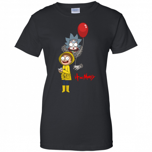 Halloween: IT and Morty shirt, hoodie, tank - image 149 500x500