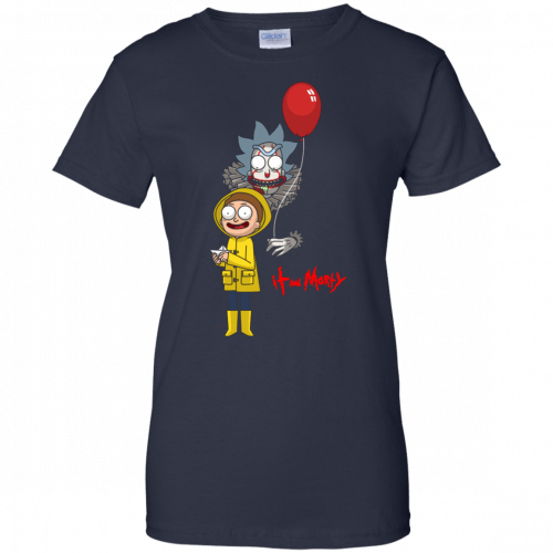 Halloween: IT and Morty shirt, hoodie, tank - image 150 500x500