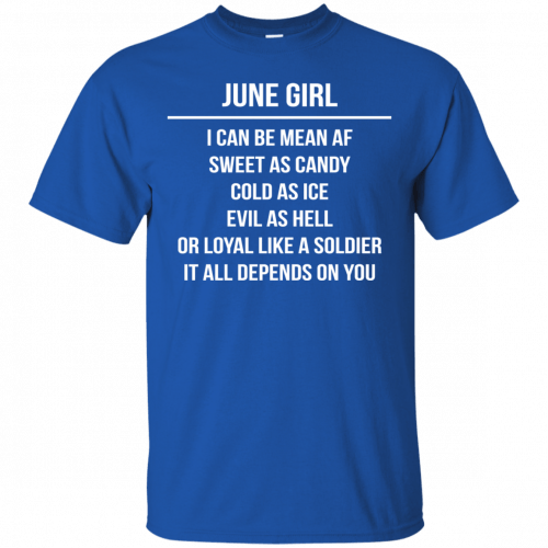 June girl I can be mean af sweet as candy cold as ice evil as hell shirt, tank - image 1573 500x500