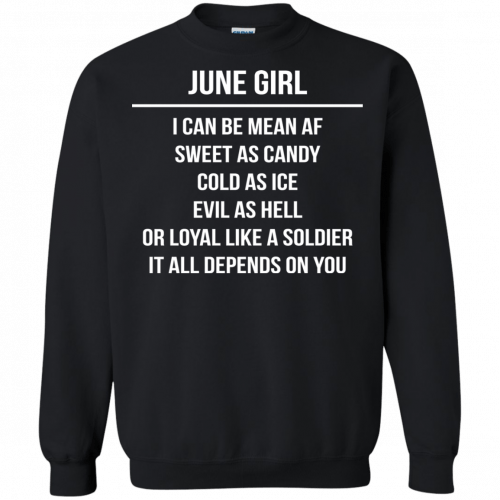June girl I can be mean af sweet as candy cold as ice evil as hell shirt, tank - image 1579 500x500
