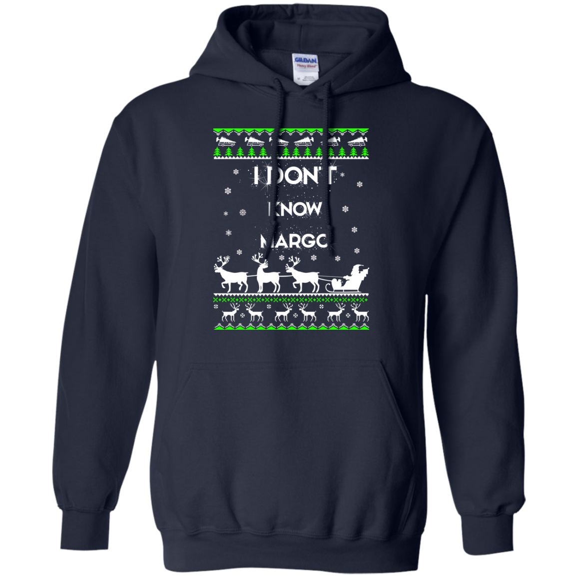 Christmas Vacation I Dont Know Margo Ugly Sweater Long Sleeve Image