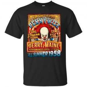 Stephen King's IT: Penny Wise All summer 1958 shirt, hoodie, tank - image 180 300x300