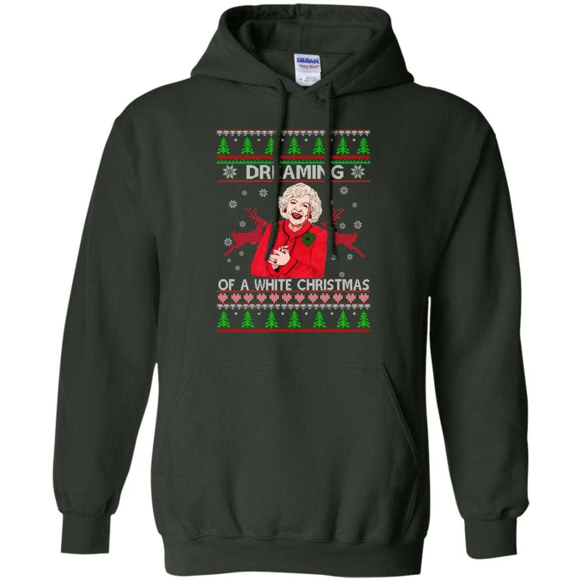 golden girls dreaming of a white christmas sweater hoodie long sleeve image