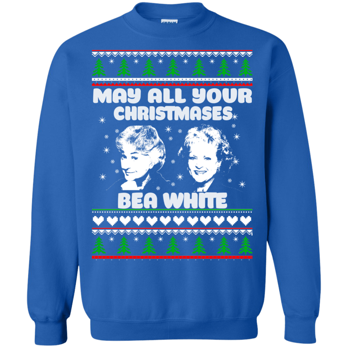 Golden Girls: May all your Christmas Bea White sweater ...