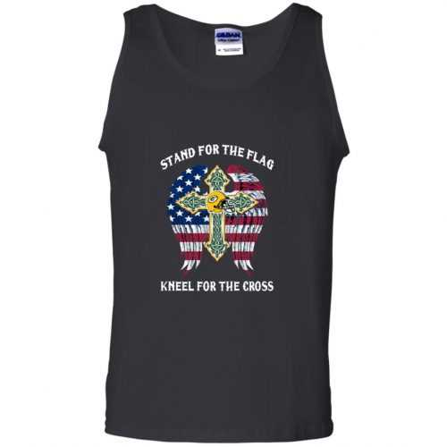 Green Bay Packers: Stand for the Flag Kneel fo the Cross shirt, tank, hoodie - image 528 500x500