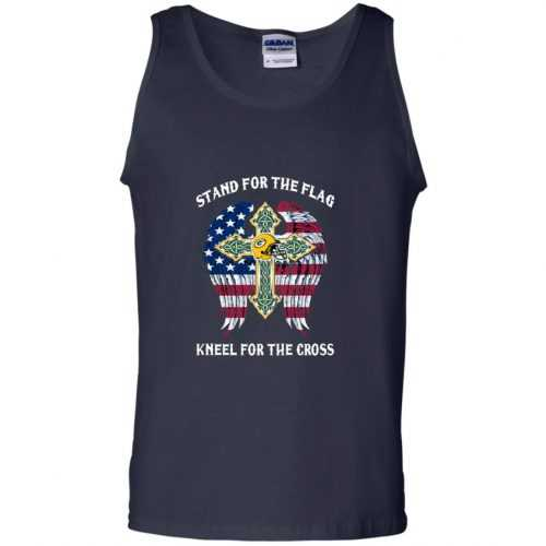 Green Bay Packers: Stand for the Flag Kneel fo the Cross shirt, tank, hoodie - image 529 500x500