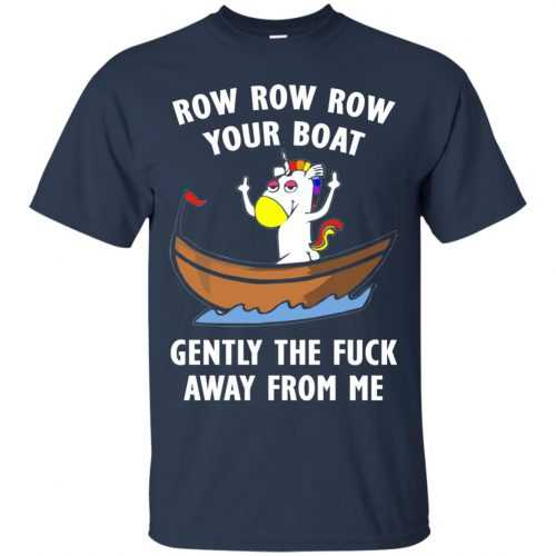 Unicorn: Row Row Row your boat shirt, hoodie, tank - image 611 500x500