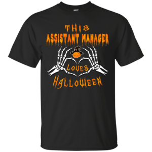 This assistant manager loves Halloween shirt, hoodie - image 936 300x300