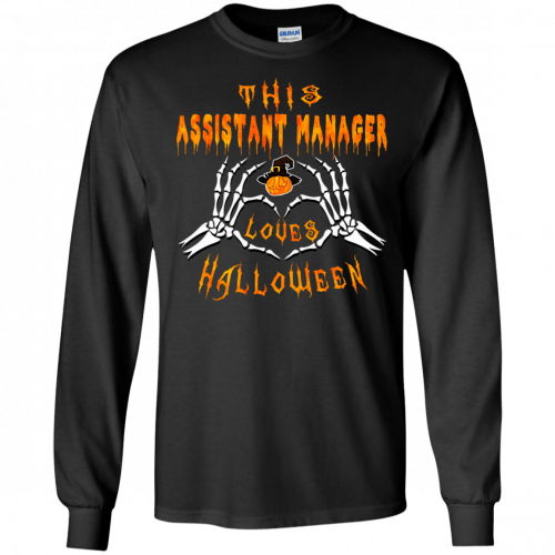 This assistant manager loves Halloween shirt, hoodie - image 939 500x500