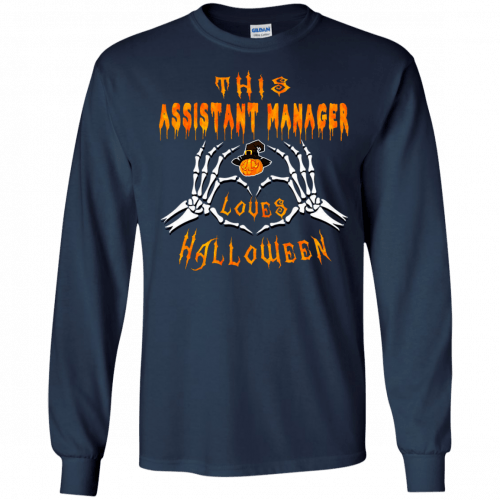This assistant manager loves Halloween shirt, hoodie - image 940 500x500
