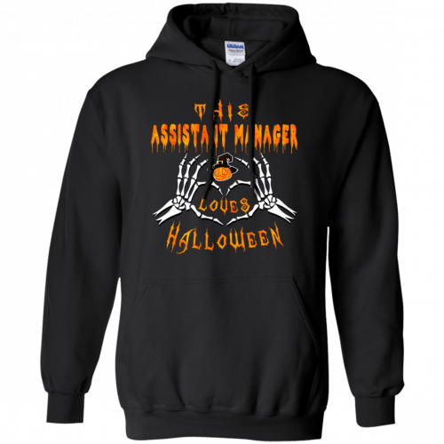 This assistant manager loves Halloween shirt, hoodie - image 941 500x500