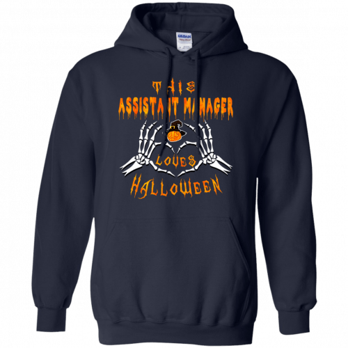 This assistant manager loves Halloween shirt, hoodie - image 942 500x500