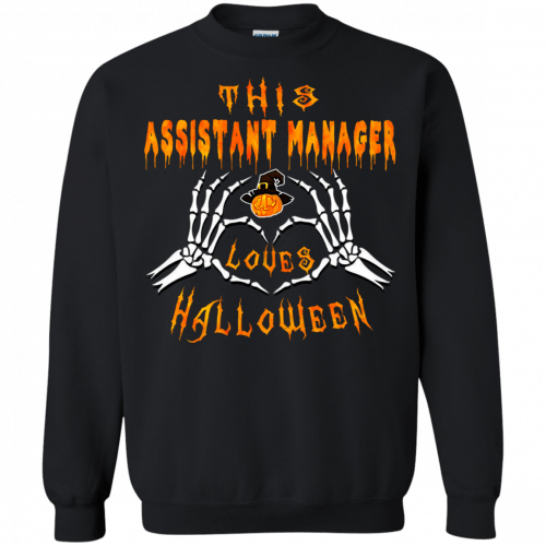 This assistant manager loves Halloween shirt, hoodie - image 943 500x500
