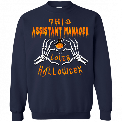 This assistant manager loves Halloween shirt, hoodie - image 944 500x500