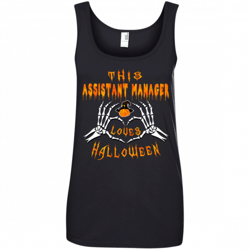 This assistant manager loves Halloween shirt, hoodie - image 945 500x500