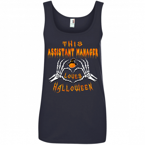 This assistant manager loves Halloween shirt, hoodie - image 946 500x500