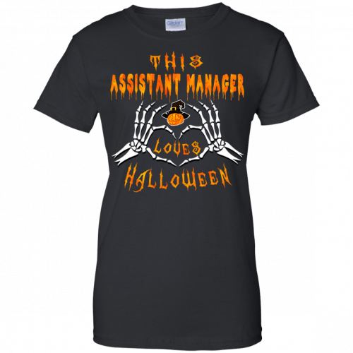 This assistant manager loves Halloween shirt, hoodie - image 947 500x500