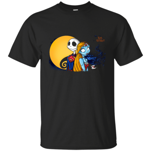 Happy Halloween: SuperJack and WonderSally shirt, hoodie, tank - image 962 500x500