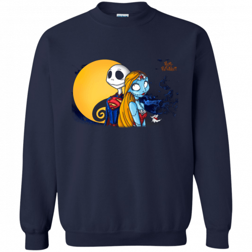 Happy Halloween: SuperJack and WonderSally shirt, hoodie, tank - image 970 500x500