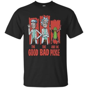 The good the bad and the Pickle rick shirt, hoodie, tank - image 1374 300x300