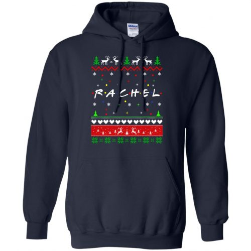 Best Friends SweatShirt: Rachel Friends Christmas Sweater, Long Sleeve - image 1918 500x500