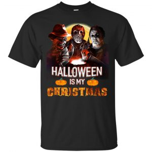 Michael Jason Freddy Halloween is my Christmas shirt, hoodie - image 2201 300x300