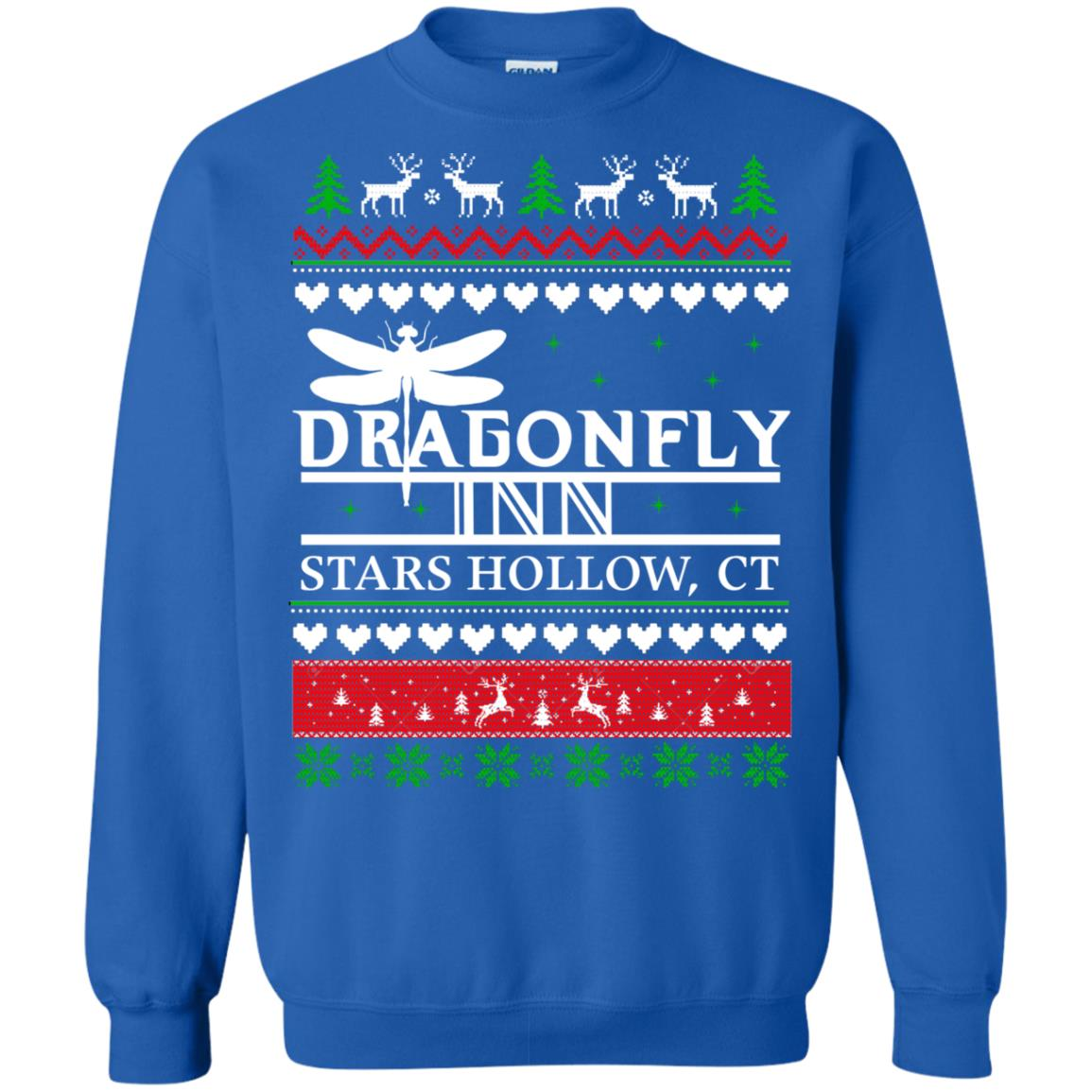 fd74e9de Dragonfly inn stars hollow Christmas Sweater, Shirt - image 2522 500x500