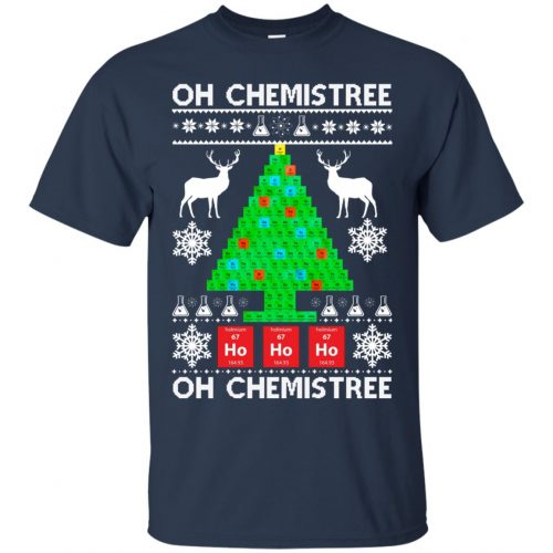 Chemist Element Oh Chemistree Christmas Sweater, Shirt, Hoodie - image 3002 500x500