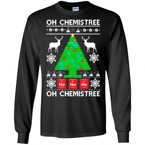 Chemist Element Oh Chemistree Christmas Sweater, Shirt, Hoodie - image 3003 500x500