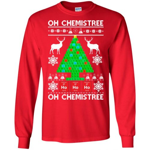 Chemist Element Oh Chemistree Christmas Sweater, Shirt, Hoodie - image 3004 500x500