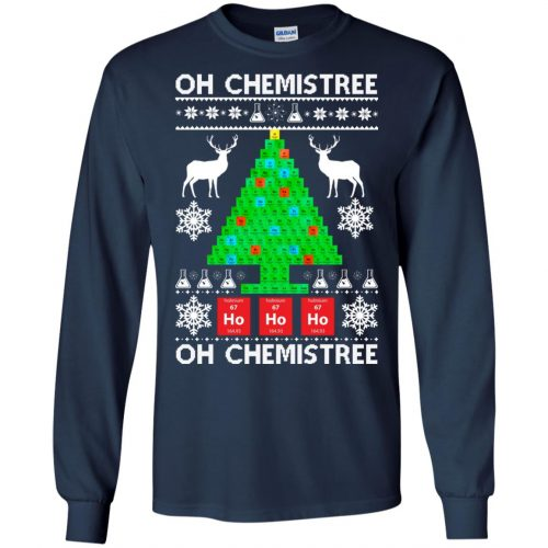 Chemist Element Oh Chemistree Christmas Sweater, Shirt, Hoodie - image 3005 500x500
