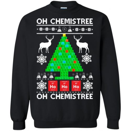 Chemist Element Oh Chemistree Christmas Sweater, Shirt, Hoodie - image 3008 500x500