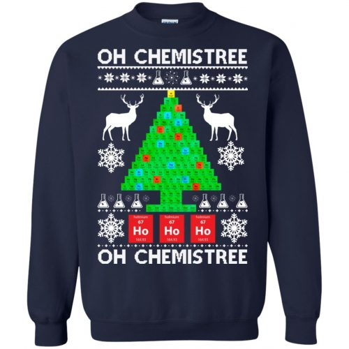 Chemist Element Oh Chemistree Christmas Sweater, Shirt, Hoodie - image 3009 500x500