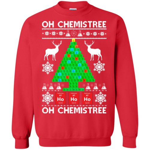 Chemist Element Oh Chemistree Christmas Sweater, Shirt, Hoodie - image 3010 500x500