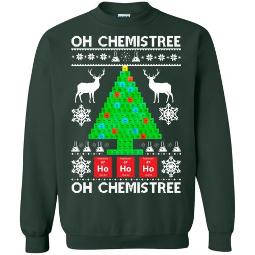 Chemist Element Oh Chemistree Christmas Sweater, Shirt, Hoodie - image 3011 500x500