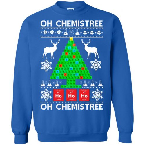 Chemist Element Oh Chemistree Christmas Sweater, Shirt, Hoodie - image 3012 500x500