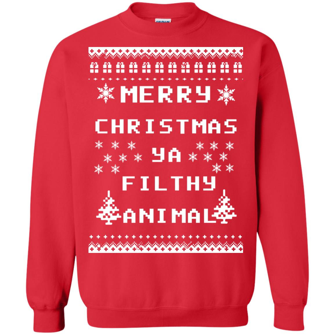 merry christmas ya filthy animal sweater hoodie image 3118 500x500 - Merry Christmas Ya Filthy Animal