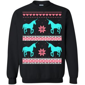 Unicorn Ugly Christmas Sweater, Shirt, Long SLeeve - image 3226 300x300