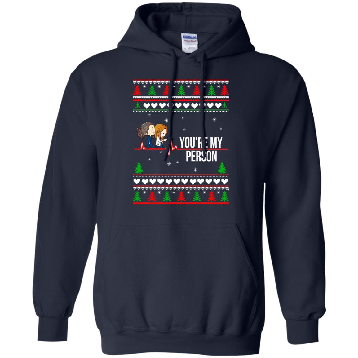grey 39 s anatomy you are my person christmas sweater. Black Bedroom Furniture Sets. Home Design Ideas