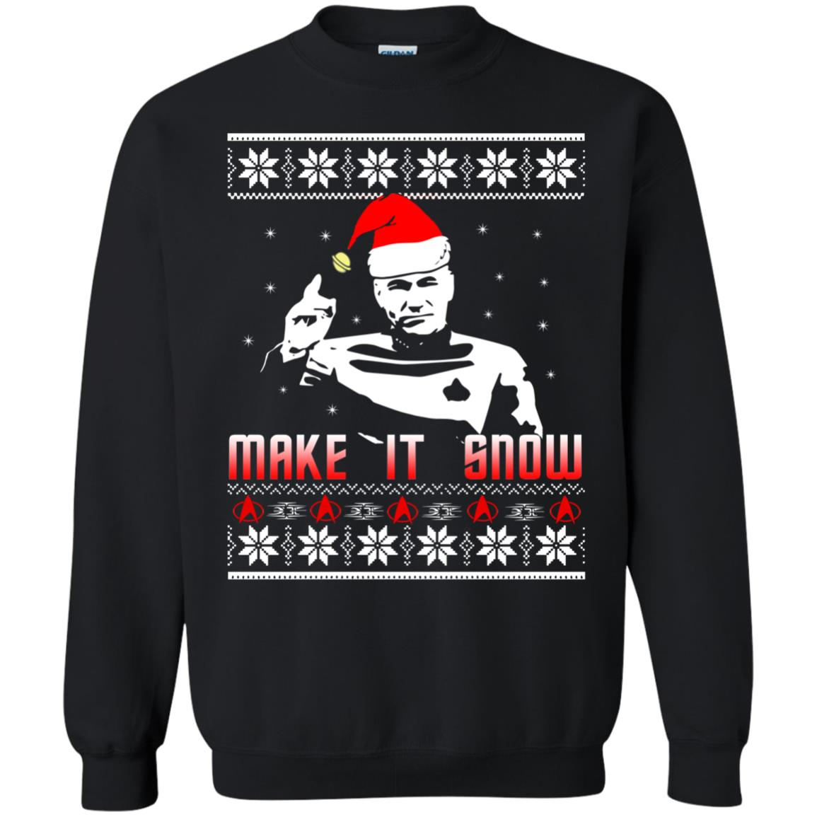 Make It Snow (Inspired by Star Trek) T-Shirt - from TShirtGrill UK