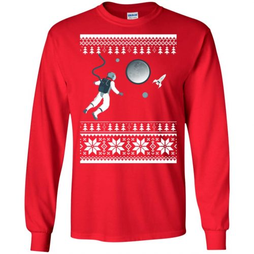 Astronaut in Space Christmas Sweater, Shirt, Hoodie - image 4270 500x500