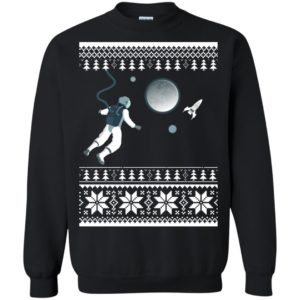 Astronaut in Space Christmas Sweater, Shirt, Hoodie - image 4274 300x300