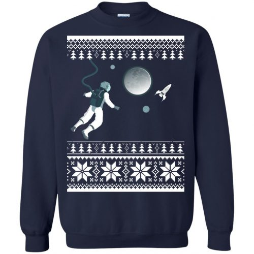Astronaut in Space Christmas Sweater, Shirt, Hoodie - image 4275 500x500