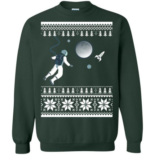 Astronaut in Space Christmas Sweater, Shirt, Hoodie - image 4277 500x500