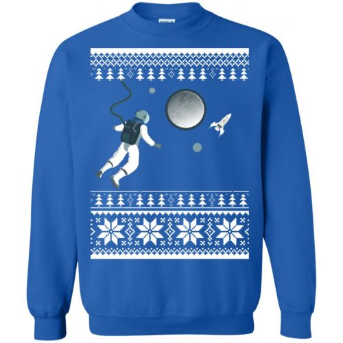 Astronaut in Space Christmas Sweater, Shirt, Hoodie - image 4278 500x500