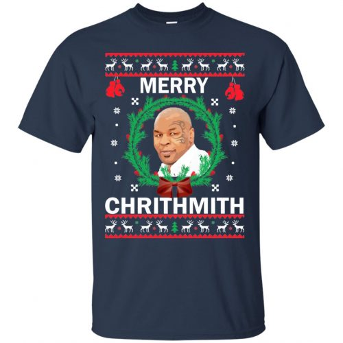 Mike Tyson Merry Chrithmith Ugly Sweater, Shirt, Hoodie - image 4654 500x500