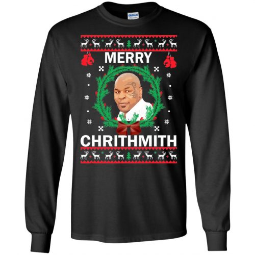 Mike Tyson Merry Chrithmith Ugly Sweater, Shirt, Hoodie - image 4655 500x500