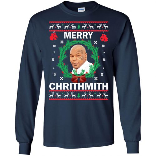 Mike Tyson Merry Chrithmith Ugly Sweater, Shirt, Hoodie - image 4657 500x500