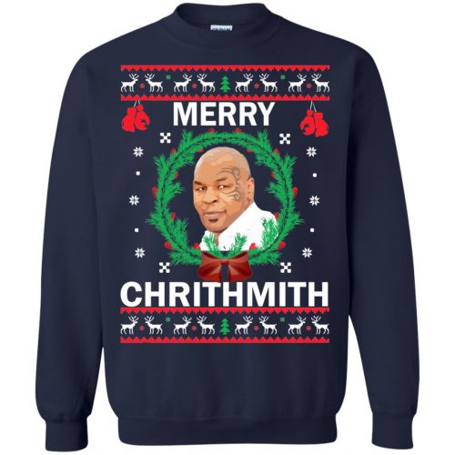 Mike Tyson Merry Chrithmith Ugly Sweater, Shirt, Hoodie - image 4661 500x500